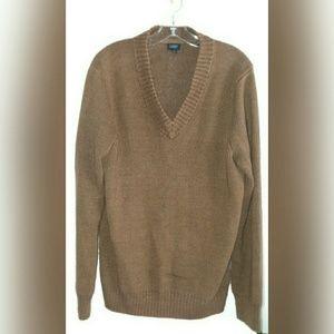 Men's J Crew Sweater, Large, Brown